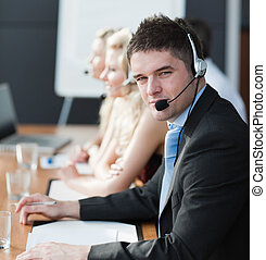 business people working - beautiful, business, call,...