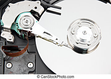 Zoom the Picture Hard drive Open the top cover off - Zoom...
