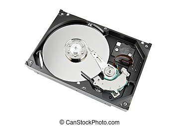 The Hard drive Open the top cover off - The Hard drive Open...