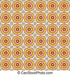 oriental seamless pattern - prepared in the eastern Ottoman...