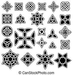 24 Celtic knots - 24 Celtic knots