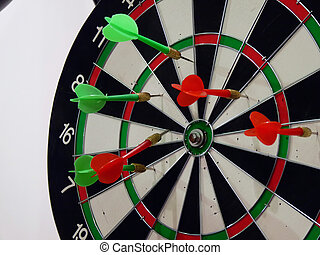 Dart - The arrow shots to keep the target
