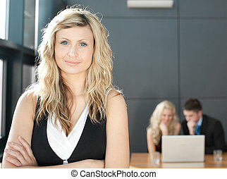 Confident Businesswoman - Portrait of a confident Business...
