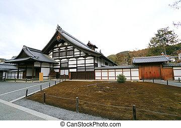 tradicional, Japão, Templo