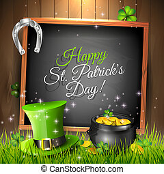 St. Patrick's Day greeting card - St. Patrick's Day - vector...