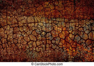 dry ground - grunge background