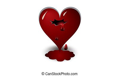 Heart - heart, shape, red, symbol, day, love, valentine s,...