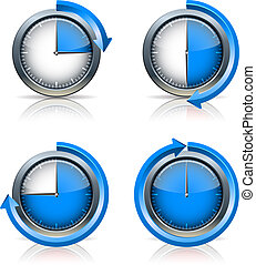 Set of Timer clocks