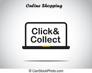 online shopping click and collect