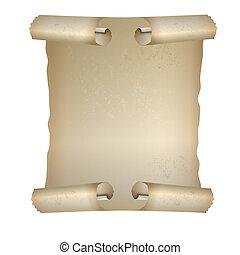 beautiful scroll