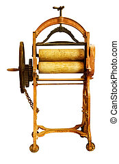 Old Washing mangle - Very old mangle used for wringing out...
