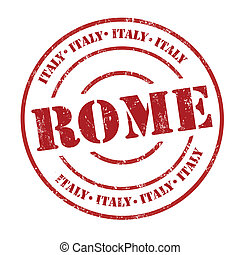 Rome, Italy stamp
