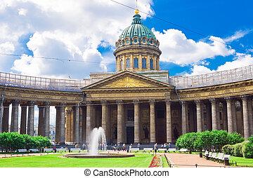 Kazan Cathedral, Saint Petersburg - Kazan Cathedral or...
