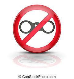 anti, spyware, icono, símbolo, Ilustración