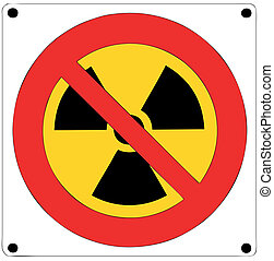 Prohibition of nuclear radiation