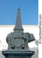 elephant - piazza della minerva, rome