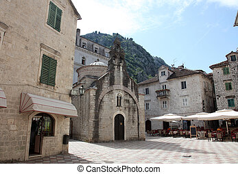 Church of Saint Luke in Kotor, Montenegro