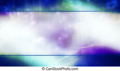 Geometric abstract looping animated background multicolor HD...