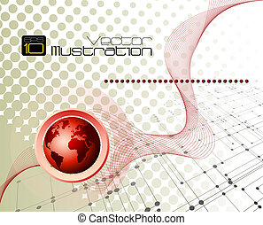 Business and communication concept - Full editable vector...