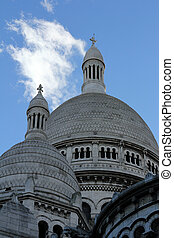 Basilique of Sacre Coeur, Montmartre, Paris, France