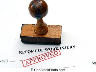 Report on work injury
