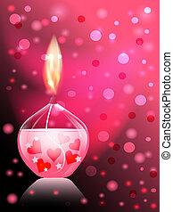 świeca, romans