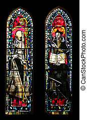 Stained glass, Church of St. Peter at Montmartre, Paris
