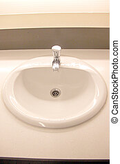 Sinks in the bathroom hotel. - The Picture focus Sinks in...