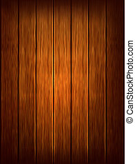 Dark wood background Vector illustration