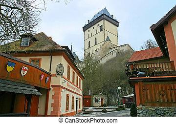 Karlstejn Castle Czech Republic.