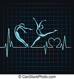 heartbeat make a yoga girl heart - heartbeat make a yoga...