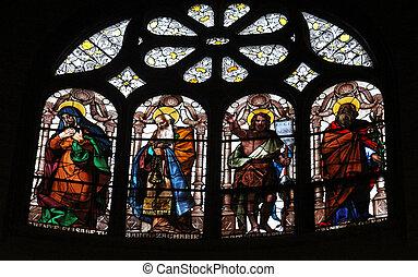 Saint Elizabeth, Zechariah, John the Baptist and Joseph