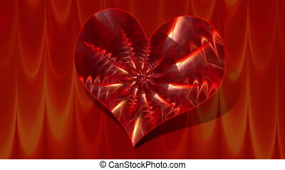 Heart - pattern - Animation on the topic of relationship -...