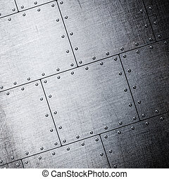 metal plates background
