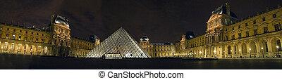 The Musee du Louvre Paris France.