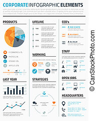 Corporate infographic elements temp - Corporate business...