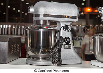 Food processor, presentation equipment