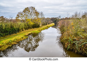 Macclesfield Canal Cheshire England UK