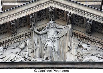 Risen Christ, Saint Etienne du Mont Church, Paris.