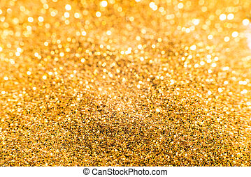 Gold treasures shiny background