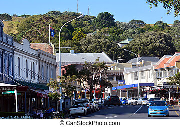 Devonport - New Zealand - DEVONPORT, NZ - JAN 18:Devonport...