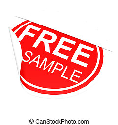 Circle label free sample image with hi-res rendered artwork...