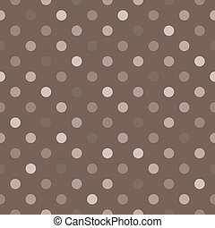 Seamless vector polka dots pattern