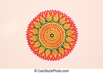 Buddhist symbol is commonly seen. - Buddhist symbol is...
