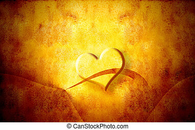 heart grunge background valentines day
