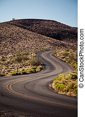 Death Valley National Park, California - Road in Death...