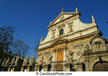 The Church of SS Peter and Paul Krakow Poland.