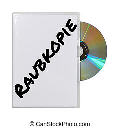 Compact-Disk - A CD in its box on a white background.