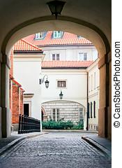Warsaw Old Town - Dziekania Street