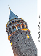 Galata Tower in Istanbul